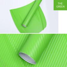3d Carbon Fiber Vinyl Car Auto Wrap Sheet Roll Film Sticker Decals Hot 127x30cm