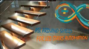 Image Is Loading LED STAIRS LIGHTING KIT ASL ARDUINO SHIELD