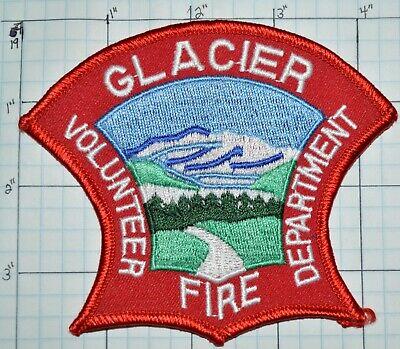 GLACIER VOLUNTEER FIRE DEPT PATCH ALASKA