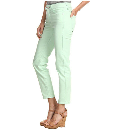 NWT Woman NYDJ Not Your Daughter's Jeans  ALISHA  Ankle Spearmint Mint Jeans 20W
