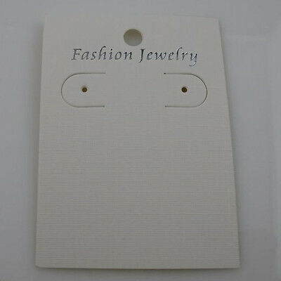 50PCS Paper Bracelet Necklace Earring Hanging Card Jewelry Display Packaging