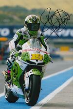 Alvaro Bautista MotoGP Hand Signed Gresini Honda Photo 12x8 2013 5.