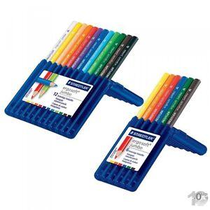 STAEDTLER-Buntstift-ergosoft-jumbo-dreieckig-Etui-versch-Etui-Groessen-zur-Auswahl