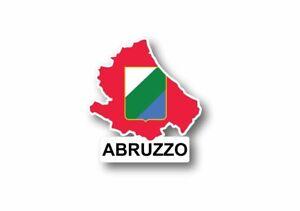 Sticker-car-flag-map-country-province-region-italy-abruzzo