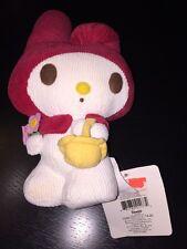 "Rare Htf Sanrio Original 2007 Vintage My Melody Plush 7"" Doll Corduroy New W Tag"