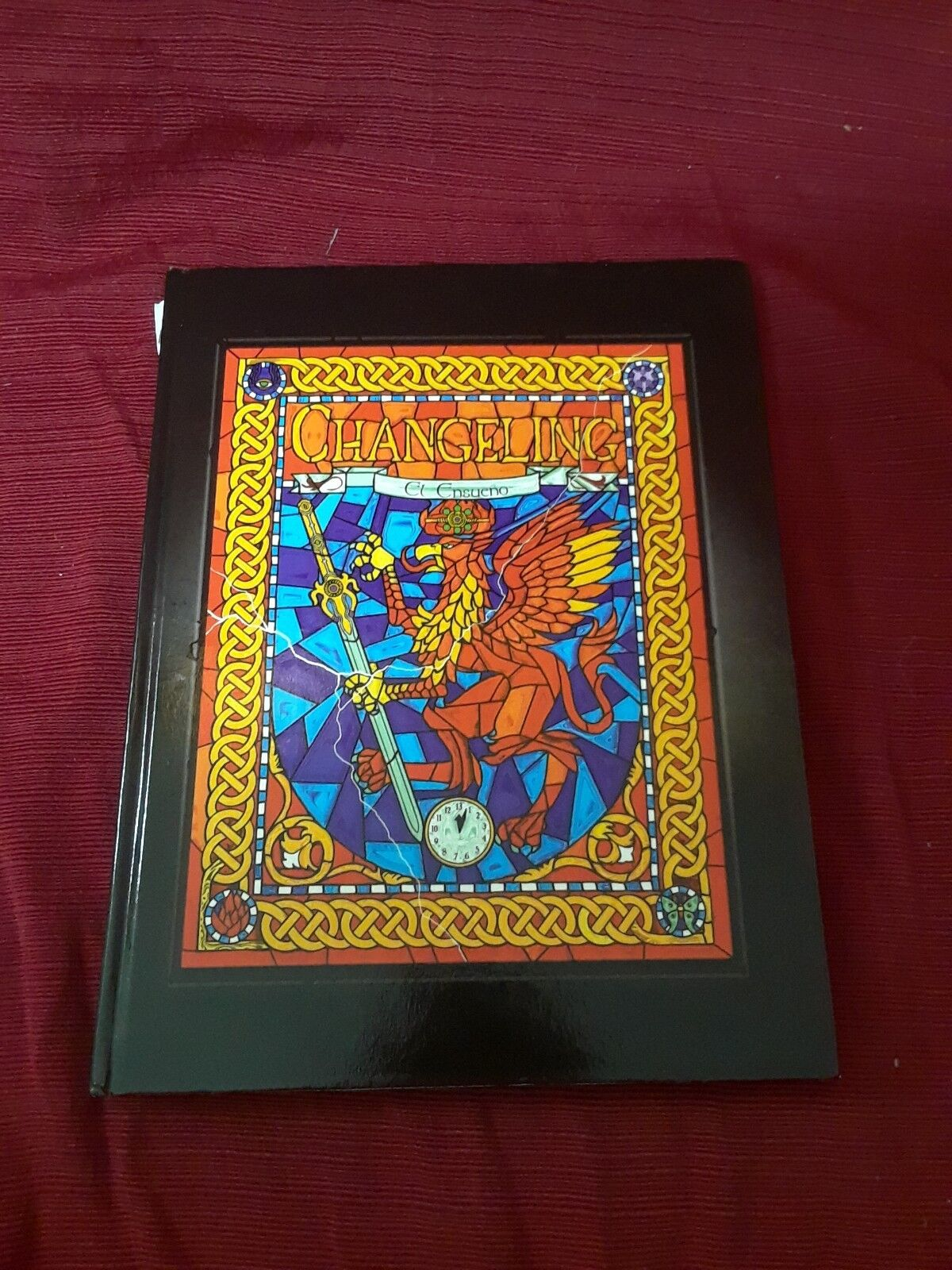 RARE in spanish Changeling The Dreaming PEG vtg gift White Wolf ad&d collector