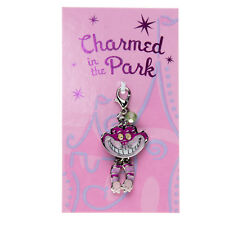 Disney Charm Charmed in the Park Lobster Clasp✿Cheshire Cat Alice in Wonderland