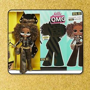 LOL-Surprise-ROYAL-BEE-OMG-Fashion-Doll-Series-1-NEW-20-Surprises-Toy-Set-Queen