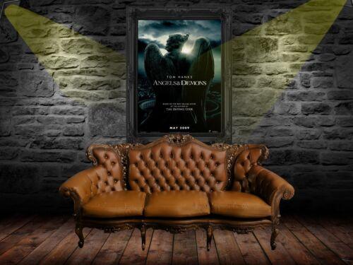 C7 Angels /& Demons 2009 Movie Poster Print A0-A1-A2-A3-A4-A5-A6-MAXI