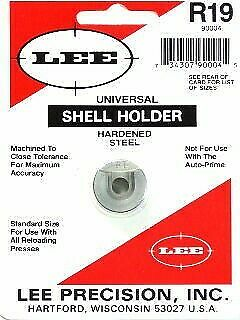 38 ACP Lee Precision R19 Shell Holder Caliber 9 mm Luger 40 s/&w 90004