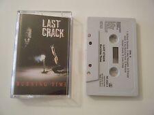 LAST CRACK BURNING TIME CASSETTE TAPE ROADRUNNER 1991