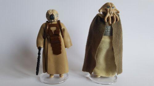 """NOUVEAU Star Wars Vintage 200 petit clair Figure Display Stands 1/"""" Mix /& Match"""