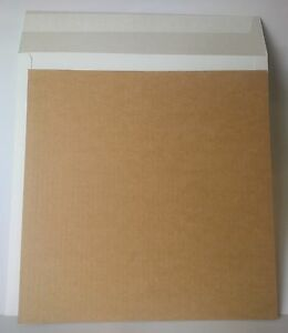 """RECORD MAILERS /& 60 STIFFENERS *NEW* 40 12/"""" WHITE LP"""