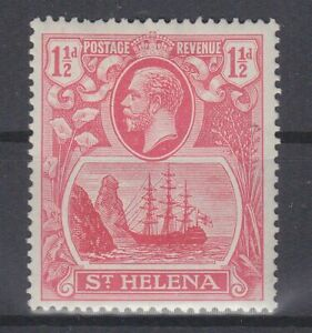 P130877-ST-HELENA-SG-99c-MINT-MH-VARIETY-CLEFT-ROCK-CV-123