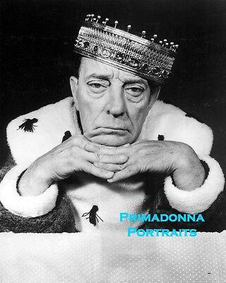 8x10 Print Buster Keaton Seated Portrait #BK4
