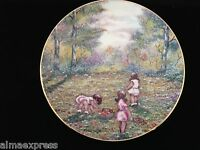 "Dominic Mingolla Plate - Calhoun's Collectors Club ""Picking Flowers"" - 1977"