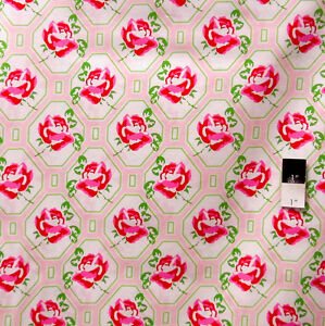 Tanya-Whelan-PWTW046-Sugar-Hill-Rose-Trellis-Pink-Fabric-By-Yd