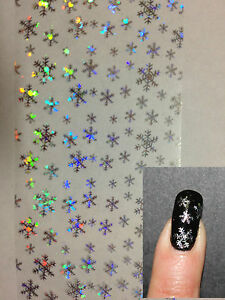 034-Snowflakes-034-transfer-nail-art-foil