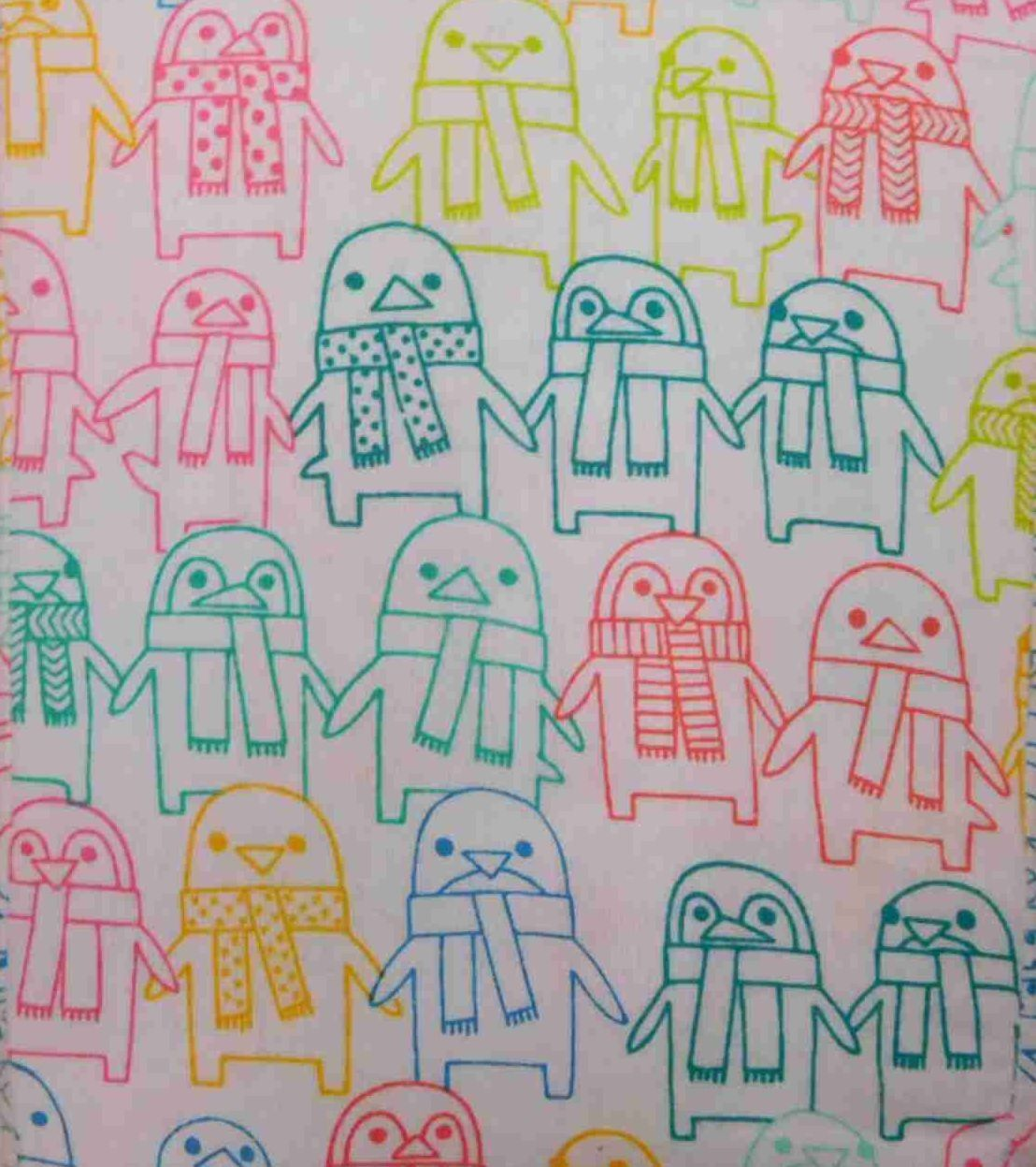 Pillowfort Flannel Sheet Set colorful Penguin Full Bed Size Sheets Bedding