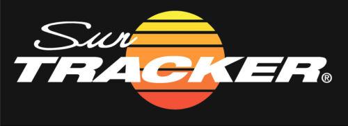 For Dark Background  37X11.5 Pontoon Boat Suntracker Sun Decals//Graphic 2