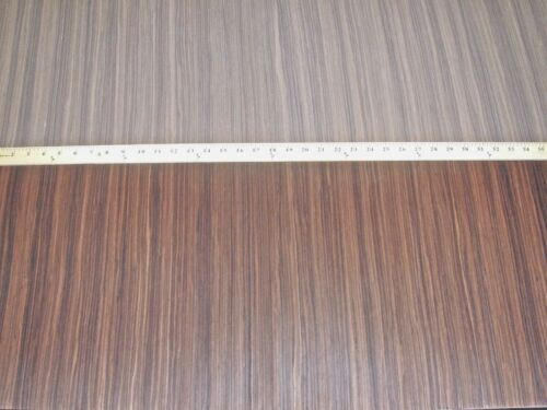 """Rosewood Ceylon composite wood veneer 24/"""" x 96/"""" with paper backer 1//40th/"""" thick"""