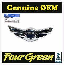 Hood Wing Emblem for Hyundai Genesis 2009-2014  OEM NEW [863203M500]