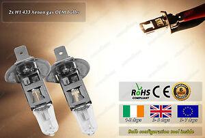 2x-H1-433-OEM-12v-55w-Headlight-Fog-High-Main-Beam-Halogen-Bulbs-Car-Bike-ATV