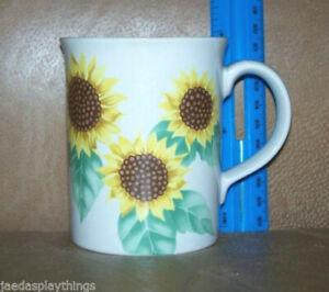 Otagiri-Mug-Cup-Yellow-Sunflower-Japan-Coffee-Vintage-3-75-034
