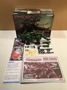 Tomy-Zoids-Green-Horn-1-72-scale-kit-Yuji-Kaida-built-with-box-incomplete