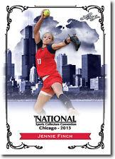 JENNIE FINCH - 2013 Leaf National Convention PROMO  USA Olympic Softball Card