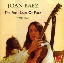 Joan Baez - First Lady of Folk: 1958 - 1961 [New CD]