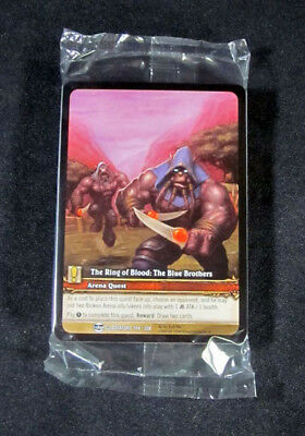 The Warmaul Champion Extended Art 25 World of Warcraft WoW TCG Ring of Blood
