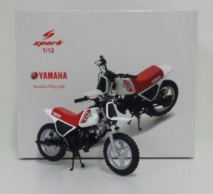 Spark 1/12 Yamaha Pw50 Minibike 1981 Minicross Enduro Moulé Sous Pression M12025