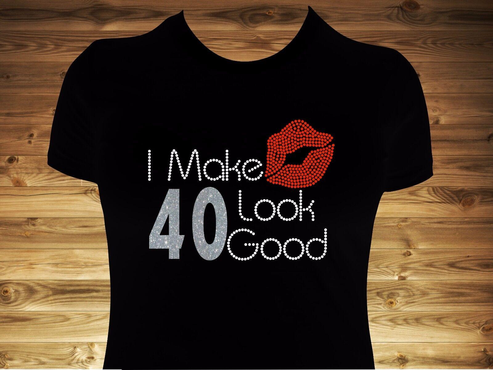 I Make 40 Look Good Premium Ultra Soft T-Shirt 40th Birthday Shirt Tee