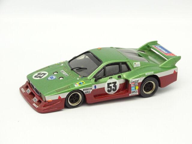 Record SB 1/43 - Lancia BETA Montecarlo No.53 24 Horas of Le Mans 1980