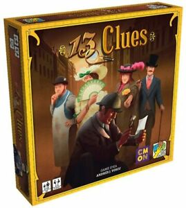 13 Clues Board Game by CMON - New Edition - Brand New in Shrink