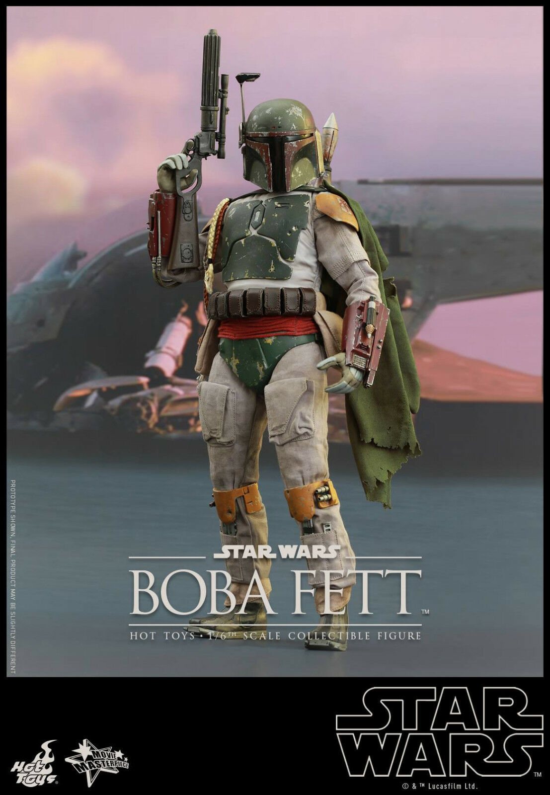 1 6 Star Wars  Episode VI Boba Fett Movie Masterpiece by Hot Toys 902491  sortie de marque