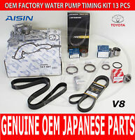 Toyota 4runner 05-09 Factory Complete Timing Belt And Water Pump Kit