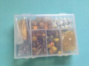 Gold Yellow And Gold Jewellery Making Bead Set - Glasgow, United Kingdom - Gold Yellow And Gold Jewellery Making Bead Set - Glasgow, United Kingdom
