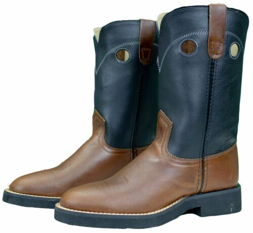 STAMPEDE SUPER ROPER UNISEX WESTERN KIDS BOOTS-CLOSEOUT