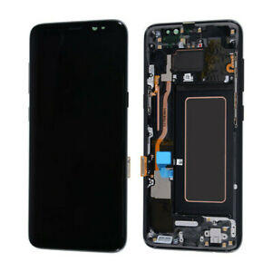 E-grade-For-Samsung-Galaxy-S8-G955-LCD-Touch-Digitizer-Frame-SBI