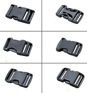 2 ~ 5 cm Side Release Plastic Buckles Safety buckle Clips For Webbing 2 PC