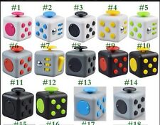 #4 FIDGET CUBE STRESS decompression ANXIETY RELIEF 6 SIDED DESK USA Seller