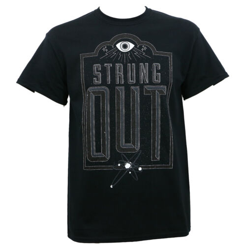 Authentic STRUNG OUT Band Eye Punk T-Shirt Black S M L XL 2XL NEW