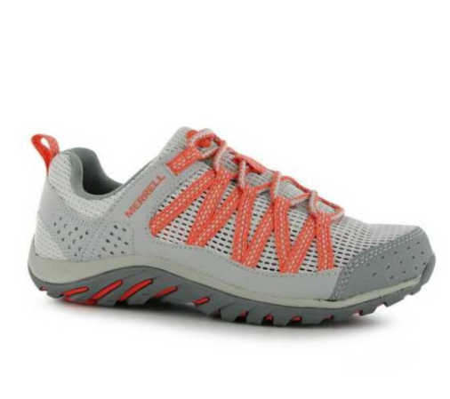 * Nouveau * Merrell femme coastrider Ice/Corail Chaussures De Marche Taille 5 (M)