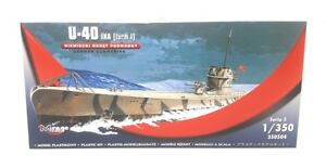 Mirage-modelo-kit-1-350-militares-Deutsches-u-bote-u40-IXa-torre-1