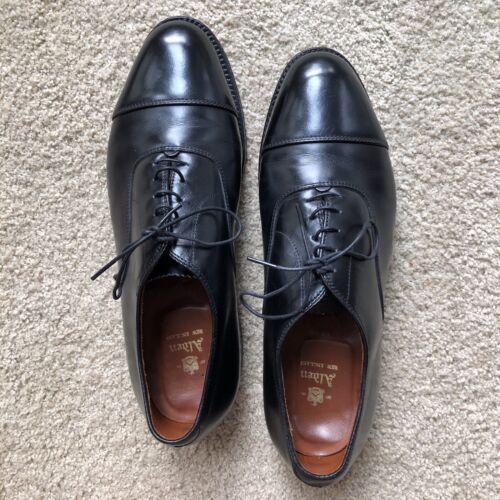 Alden Captoe Cordovan Dress Shoes (Black)