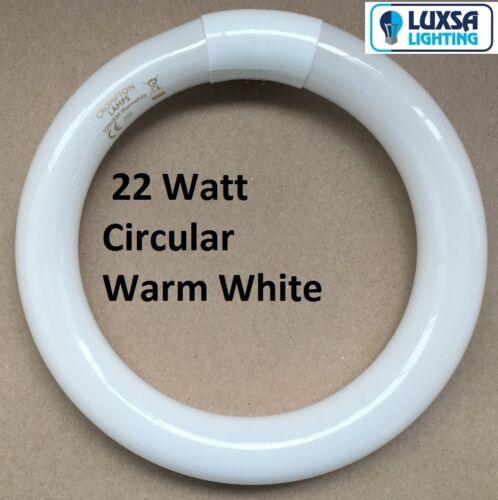 32W T9 Warm White Crompton Circular Fluorescent Tube Round FC32W//29-530