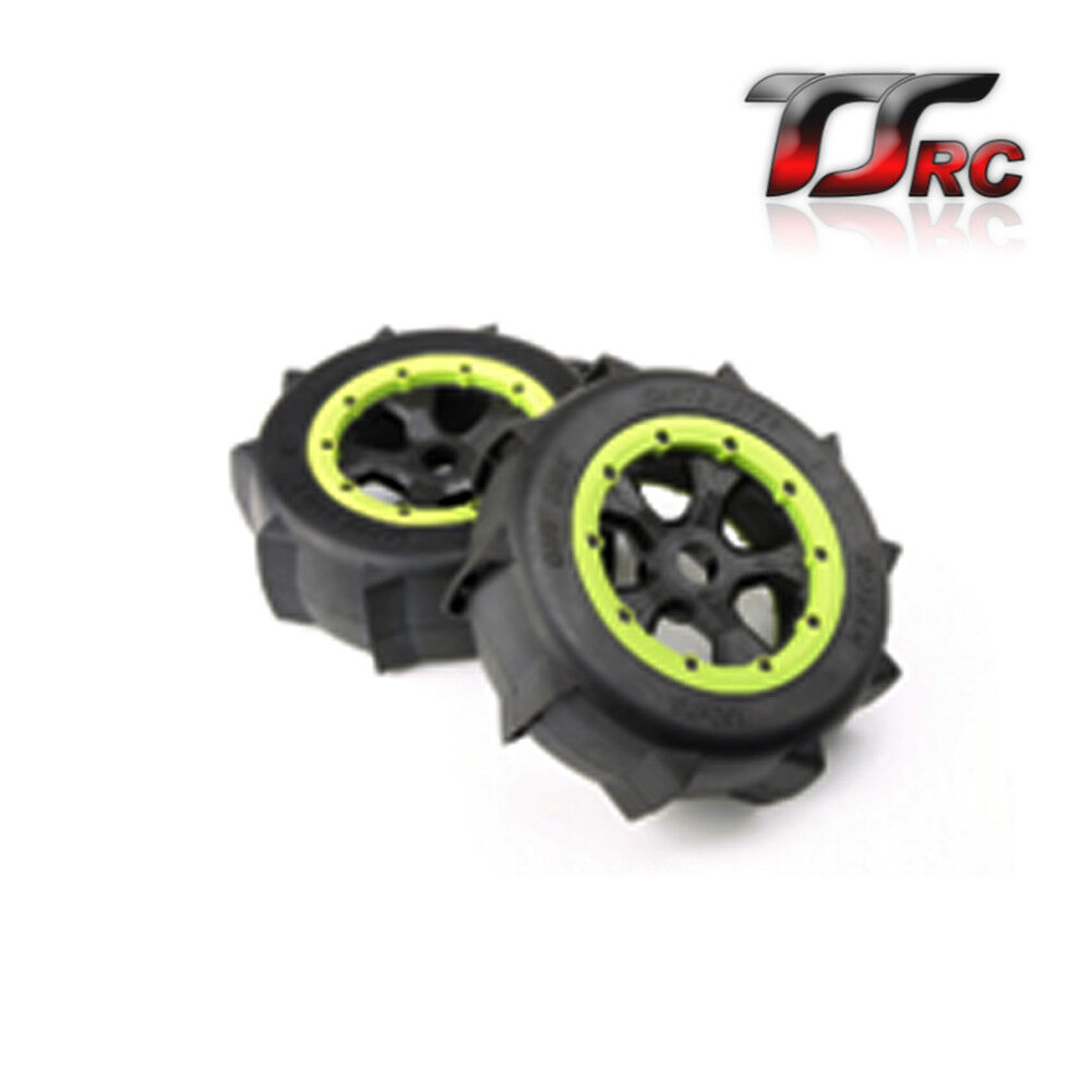 Desert Wheel tires 2pcs for Losi 5ive T