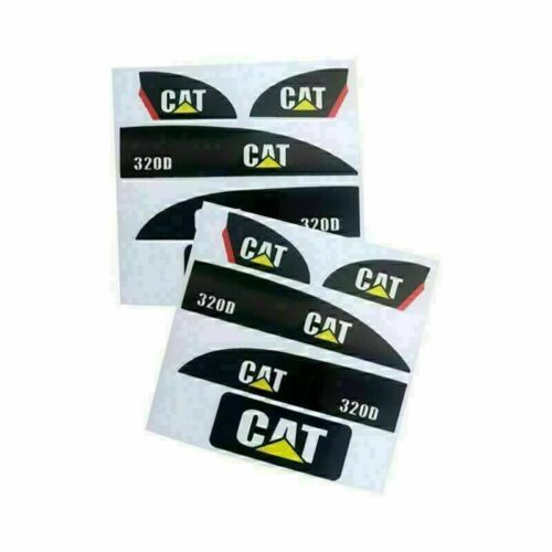 1//14 CAT 320D Sticker Set for Huina 550 15 Channel RC Excavator Amewi Decal